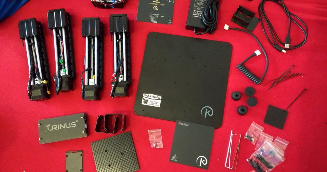 Alles Bauteile für den Trinus3d