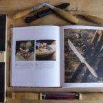 Das Buch Holz! und ein Teil unserer Schnitzausstattung